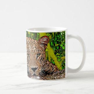 Lazy Leopard Coffee Mug