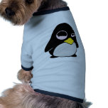 LAZY LINUX TUX PENGUIN DOG CLOTHES