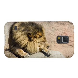 Lazy Lion Phone Case Galaxy S5 Cover