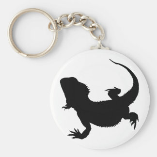 Lazy Lizard Keychain