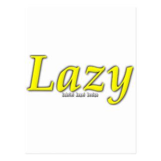Lazy Logo Postcard