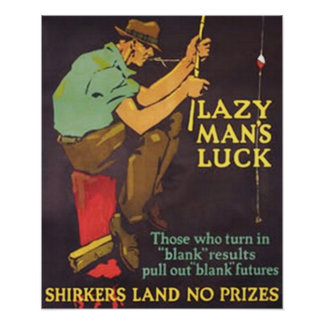 Lazy Man's Luck Poster