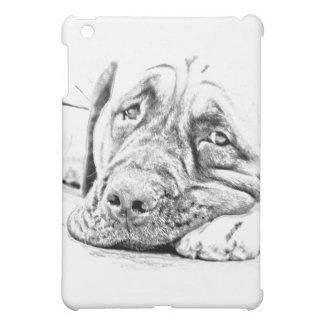 Lazy Mastiff iPad Mini Cover