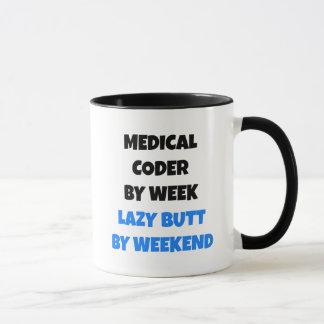 Lazy Medical Coder Mug