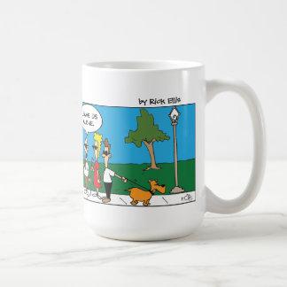 Lazy Mime Coffee Mug
