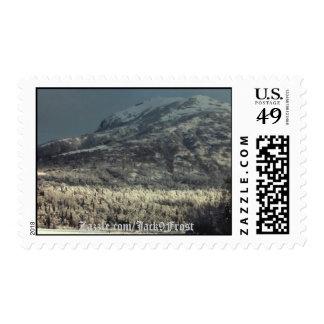 Lazy Mountain #01, Zazzle.com/Jack9Frost Stamp