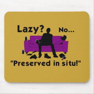 Lazy? Mouse Mat Mouse Pad