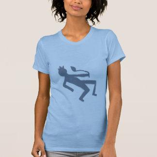 lazy pale blue T-Shirt