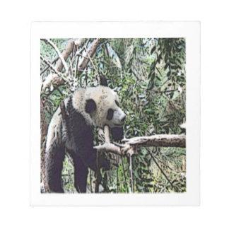 lazy panda memo note pads