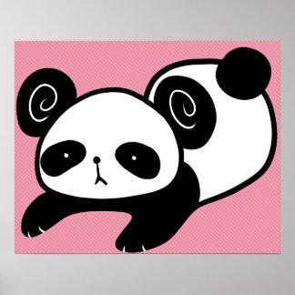 lazy panda poster