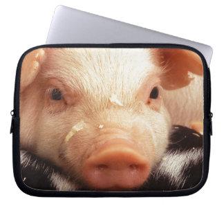 Lazy Piglet Laptop Computer Sleeve