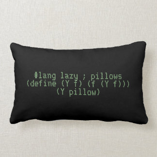 Lazy pillows