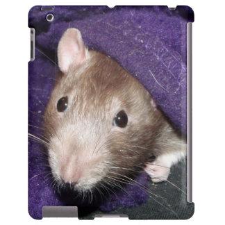lazy rat iPad case