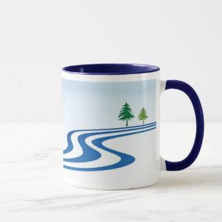 Lazy River Design Mug