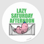 Lazy Saturday Afternoon Sticker