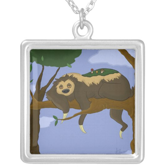 Lazy Sloth Necklace