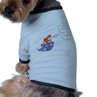Lazy Song Dino Doggie Tee Shirt