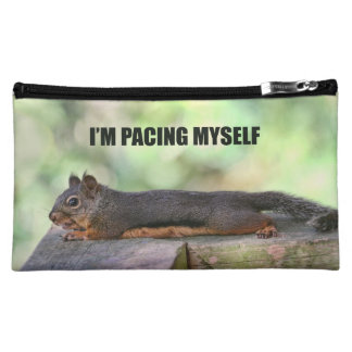Lazy Squirrel Photo Cosmetic Bag
