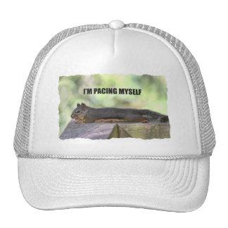 Lazy Squirrel Photo Trucker Hat