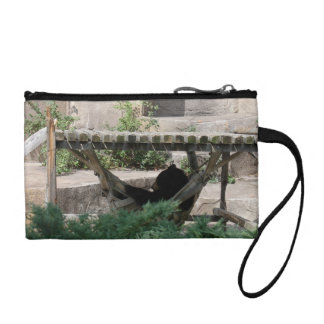 Lazy Summer Day for a Bear Key Coin Clutch Change Purse