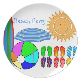 Lazy Summer Days Melamine Plate