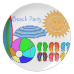 Lazy Summer Days Plate