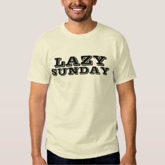 lazy sunday t shirt
