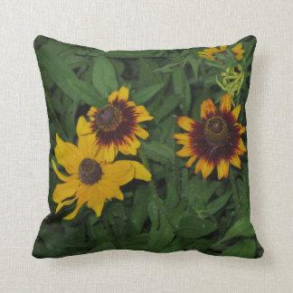 Lazy Susans Black-eyed Susan Flowers Pillow