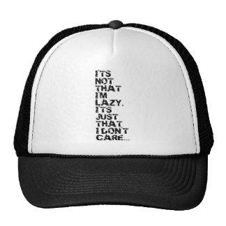 Lazy Trucker Hat