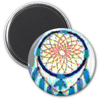 'Lazy Water' 2 Inch Round Magnet
