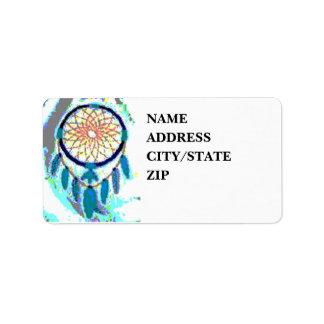 'Lazy Water' Custom Address Label