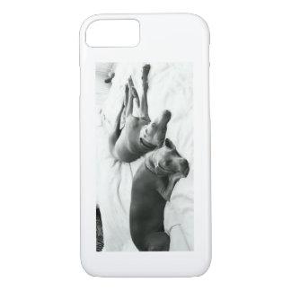 Lazy Weimaraners iPhone 7 Case