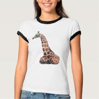 LazyDay Giraffe - wh/blk T-Shirt