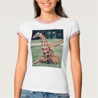 LazyDay Giraffe - wh/pk T-Shirt
