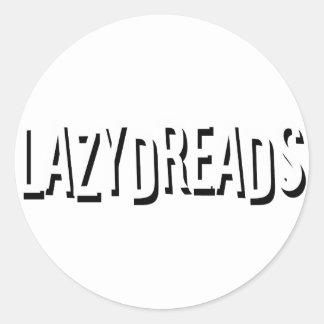 Lazydreads Etiquetas Redondas