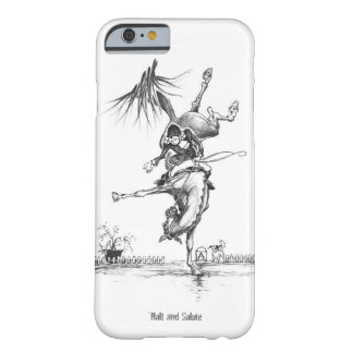 """LB11 """"halt and Salute"""" iPhone 6 Barely There iPhone 6 Case"""