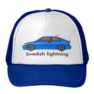 _lb del viggen, relámpago sueco gorros