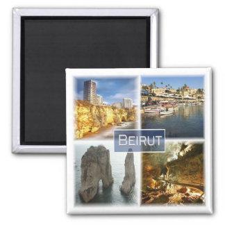 LB * Lebanon - Beirut Magnet