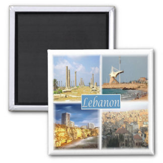 LB * Lebanon - Mosaic - Collage Magnet