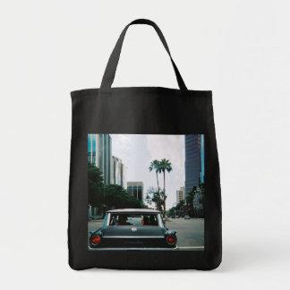 LBC - Long Beach, California Grocery Tote Bag