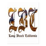 LBC - Long Beach California - océano Postal