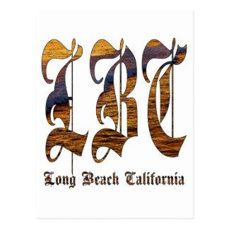 LBC - Long Beach California - océano Tarjetas Postales