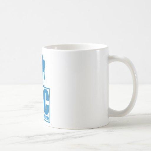LBC - Long Beach California - Surf - Blue Classic White Coffee Mug