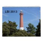 lbi 2013 calander wall calendar