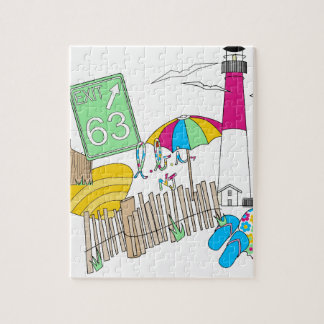 LBI Love Girly Collage Jigsaw Puzzle