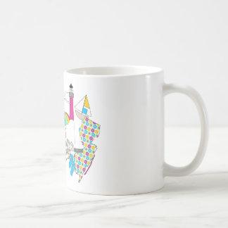 LBI Love Girly Collage Basic White Mug