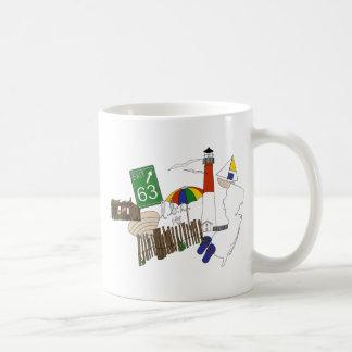 LBI Love Primary Color Collage Basic White Mug