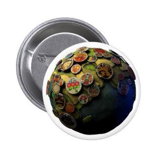LBP Earth Pinback Button