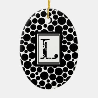 Lbubble Ceramic Ornament