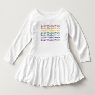 LC Pride Toddler Ruffle Dress (rainbow pride)